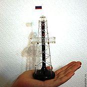 Подарки к праздникам ручной работы. Ярмарка Мастеров - ручная работа Нефтяная вышка. Handmade.