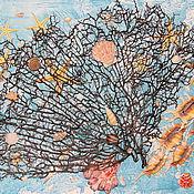 Картины и панно ручной работы. Ярмарка Мастеров - ручная работа Кусочек моря.. Handmade.