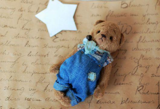 Мишки Тедди ручной работы. Ярмарка Мастеров - ручная работа. Купить Мишка Маленький принц. Handmade. Коричневый, мишка мальчик