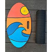 Для дома и интерьера handmade. Livemaster - original item Balance Board Wave. Handmade.