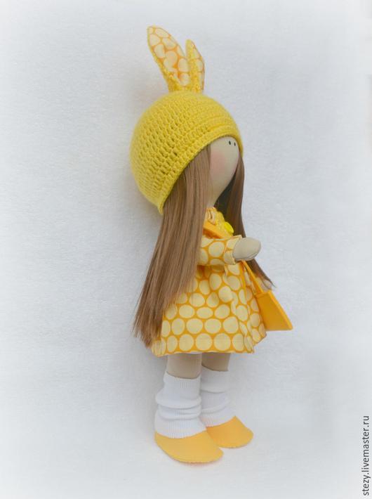 Коллекционные куклы ручной работы. Ярмарка Мастеров - ручная работа. Купить Куколка 34см. Handmade. Желтый, куклы и игрушки