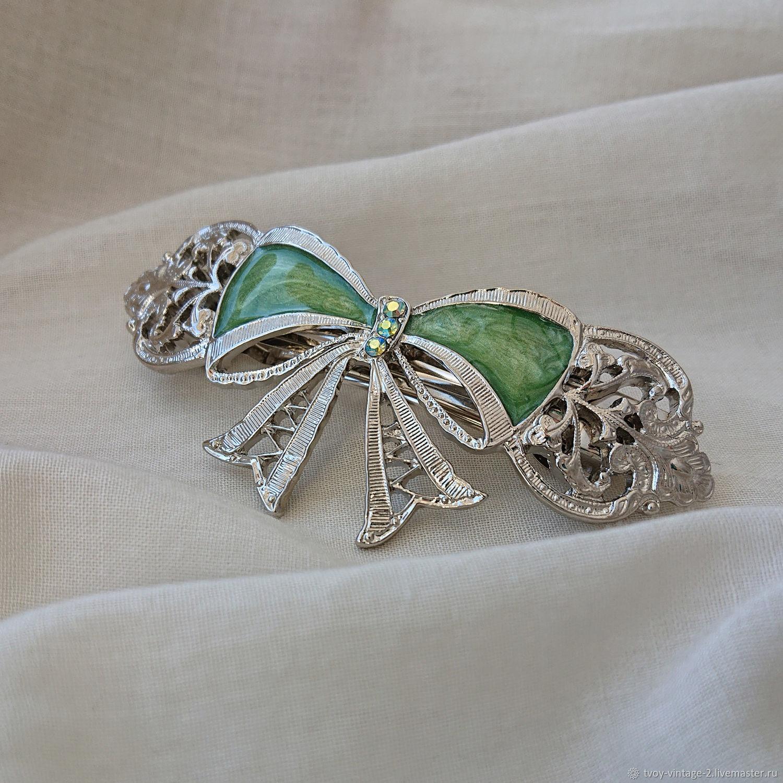Винтаж: Заколка 1928 Jewelry «Мисс Шарлотта», Аксессуары винтажные, Москва,  Фото №1
