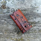 Сумки и аксессуары handmade. Livemaster - original item Housekeeper leather. Key case №1. Handmade.
