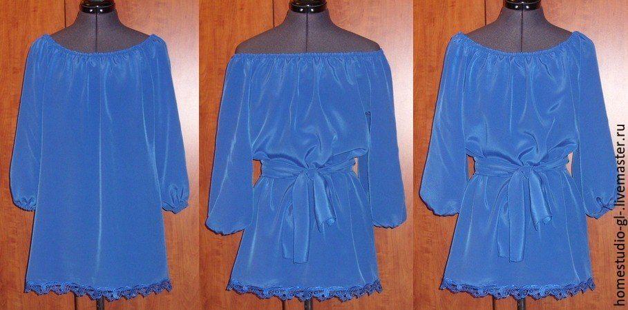 Блузка кармен доставка