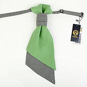 Аксессуары ручной работы. Ярмарка Мастеров - ручная работа галстук-регат мята. Handmade.