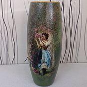 """Для дома и интерьера ручной работы. Ярмарка Мастеров - ручная работа Ваза для цветов """"Благоухание роз"""". Handmade."""