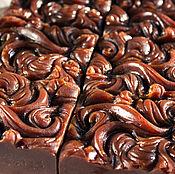Косметика ручной работы. Ярмарка Мастеров - ручная работа LUXE Корица и Шоколад на красном вине натуральное мыло с нуля. Handmade.