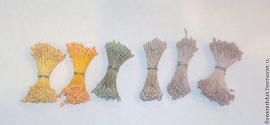 Материалы для флористики ручной работы. Ярмарка Мастеров - ручная работа. Купить Тычинки Япония  - 6 видов. Handmade. Тычинки, тычинки