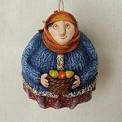 Куклы и игрушки ручной работы. Ярмарка Мастеров - ручная работа Бабуля  пасхальная. Handmade.