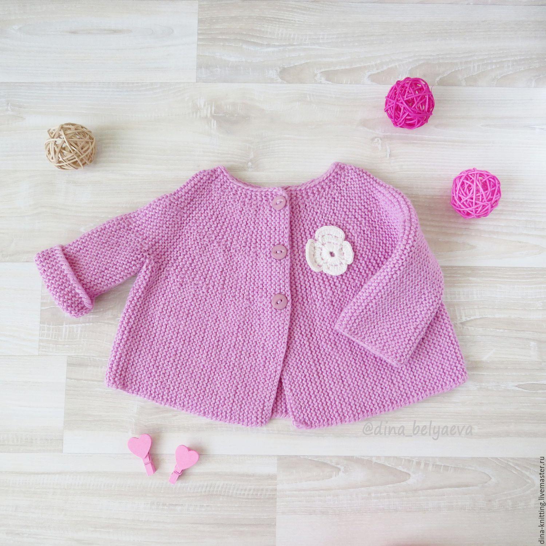 Вязание для девочек 3 года кофты
