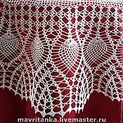 Для дома и интерьера handmade. Livemaster - original item The tablecloth in the style of