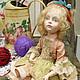 """Коллекционные куклы ручной работы. Ярмарка Мастеров - ручная работа. Купить Авторская кукла """" Козетта"""". Handmade. Бежевый"""