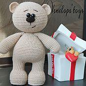 Материалы для творчества handmade. Livemaster - original item Master class on knitting toys