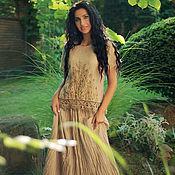 Одежда handmade. Livemaster - original item Linen suit with a skirt