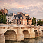 Картины и панно handmade. Livemaster - original item Paris city photo view of Pont Neuf. The fortress shores of time. Handmade.