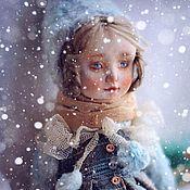 Куклы и игрушки ручной работы. Ярмарка Мастеров - ручная работа Колекционная кукла Сашенька. Handmade.