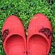Обувь ручной работы. Валяные женские тапочки. Красные.. Наталья Лебедева (Nota-Lya). Ярмарка Мастеров. Подарок для женщины