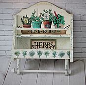 Для дома и интерьера handmade. Livemaster - original item The spice rack in the style of provence. Handmade.