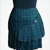 Одежда ручной работы. Ярмарка Мастеров - ручная работа Зеленый килт. Handmade.
