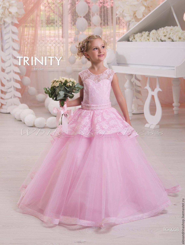 062f5aa5ee6a74b ручной работы. Ярмарка Мастеров - ручная работа. Купить Детское бальное  платье.