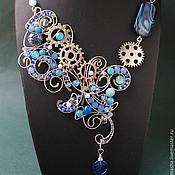 Украшения handmade. Livemaster - original item necklace magical mechanics of the soul (option). Handmade.