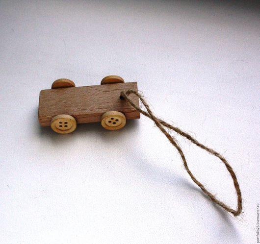 Куклы и игрушки ручной работы. Ярмарка Мастеров - ручная работа. Купить Тележка  для куклы пуговки.. Handmade. Бежевый, для кукол, тележка