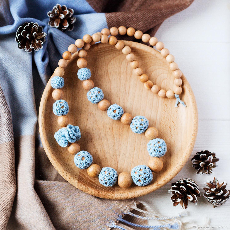 Слингобусы в бохо-стиле голубые, Слингобусы, Рязань,  Фото №1