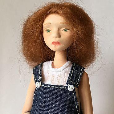 Куклы и игрушки ручной работы. Ярмарка Мастеров - ручная работа Шарнирная кукла Зая (флюмо, bjd). Handmade.