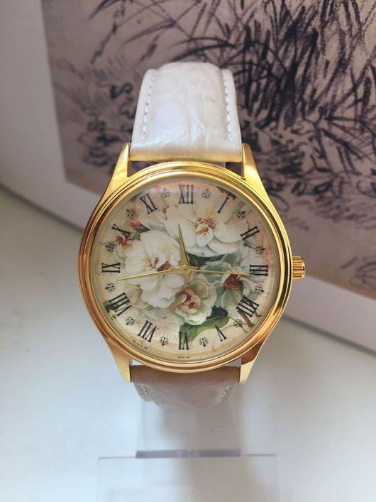 """Часы ручной работы. Ярмарка Мастеров - ручная работа. Купить Часы наручные JK """"Нежность"""". Handmade. Часы, часы в подарок"""