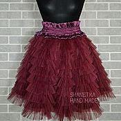 Одежда handmade. Livemaster - original item Tulle ruffle skirt flounced for adults. Handmade.
