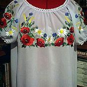 Одежда handmade. Livemaster - original item Women`s embroidery ZhR4-026. Handmade.