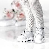 Куклы и игрушки handmade. Livemaster - original item White shoes for Blythe dolls. Handmade.