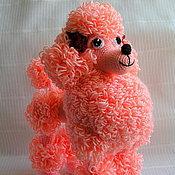 Куклы и игрушки ручной работы. Ярмарка Мастеров - ручная работа Пудель Персик. Handmade.