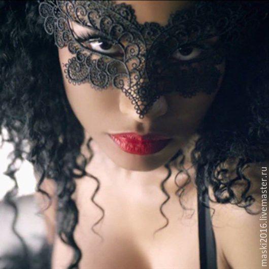 Карнавальные костюмы ручной работы. Ярмарка Мастеров - ручная работа. Купить Кружевная маска #15. Handmade. Кружевная маска, аксессуары