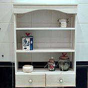 Для дома и интерьера ручной работы. Ярмарка Мастеров - ручная работа Полка для ванной. Handmade.