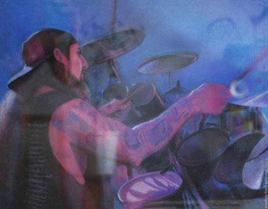 Люди, ручной работы. Ярмарка Мастеров - ручная работа. Купить барабанщик Mike Portnoy. Handmade. Майк портной, mike portnoy