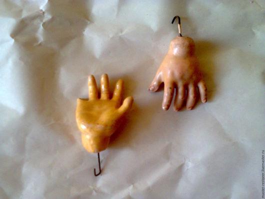 Реставрация. Ярмарка Мастеров - ручная работа. Купить Пальцы рук антикварной куклы. Handmade. Кукла, немецкая, краска