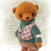 Куклы и игрушки handmade. Livemaster - original item Teddy bear Winnie. Handmade.