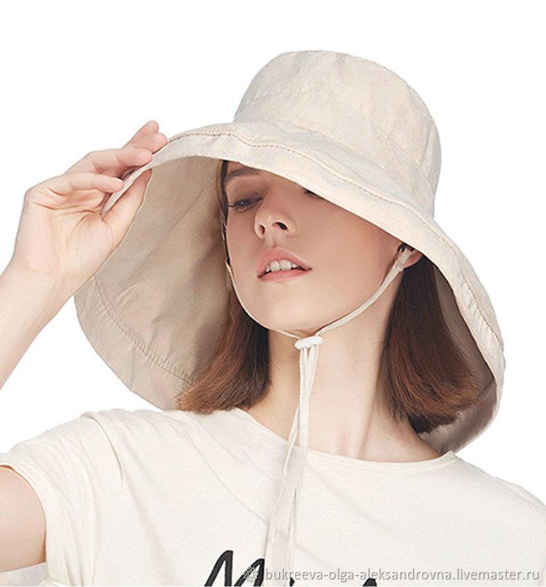 женская шляпа от солнца, модная, супер широкая, с полями, Шляпы, Балашиха,  Фото №1