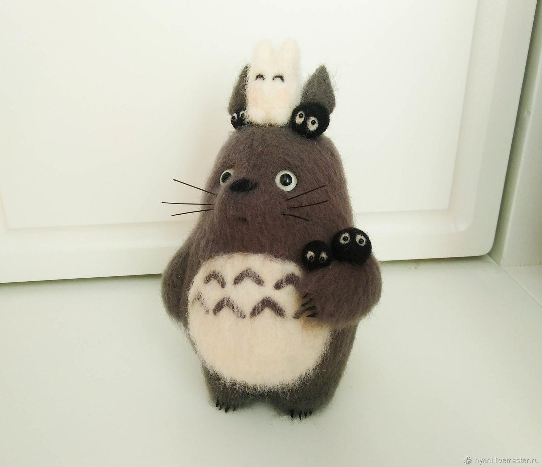 Totoro (felt toy), Felted Toy, Vyshny Volochyok,  Фото №1