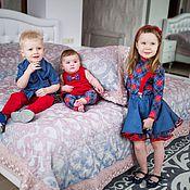 Работы для детей, ручной работы. Ярмарка Мастеров - ручная работа Одежда для детей. Handmade.
