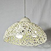 Для дома и интерьера handmade. Livemaster - original item Balls of creamy ice-cream - lamp with three lamps. Handmade.