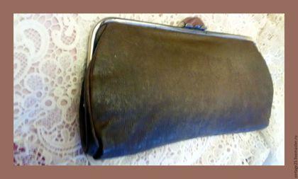 """Винтажные сумки и кошельки. Винтажная сумка клатч 30 е годы. Винтажный салон """"Консуэлло"""". Интернет-магазин Ярмарка Мастеров."""