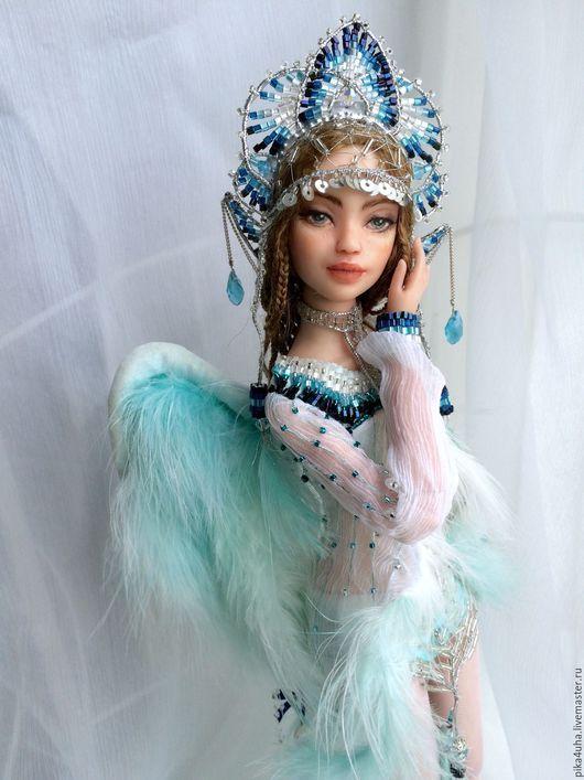 Коллекционные куклы ручной работы. Ярмарка Мастеров - ручная работа. Купить Царевна Лебедь. Handmade. Комбинированный, девушка, авторская кукла