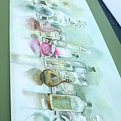 Картины и панно ручной работы. Ярмарка Мастеров - ручная работа Парфюмерная коллекция. Handmade.