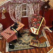 """Куклы и игрушки ручной работы. Ярмарка Мастеров - ручная работа Румбокс """"Швейная мастерская"""". Handmade."""
