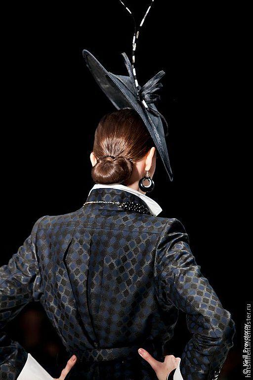 Шляпы ручной работы. Ярмарка Мастеров - ручная работа. Купить Шляпка  из коллекции для Показа на RFW. Handmade. Шляпка женская