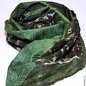 Аксессуары handmade. Livemaster - original item scarf felted Mood hacks. Handmade.