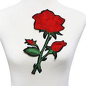 Материалы для творчества handmade. Livemaster - original item Bright embroidery, applique. Paulina. Handmade.