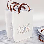 Сувениры и подарки ручной работы. Ярмарка Мастеров - ручная работа Пакеты с логотипом, для фотографий.. Handmade.